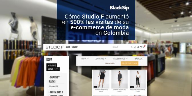 ¿Cómo Studio F aumentó 500% sus visitas online?